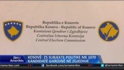 Kosovë: 25 subjekte politike me 1070 kandidatë garojnë në zgjedhje