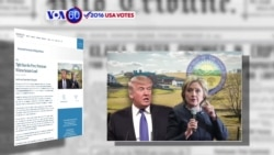 "VOA60 Elections - Donald Trump said his derogatory remarks towards women were made for ""entertainment"""