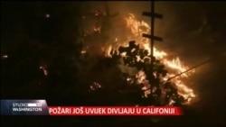 Požari i dalje divljaju u Kaliforniji
