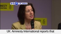 VOA60 World- Amnesty: 'Disturbing' Rise in Executions Worldwide in 2015