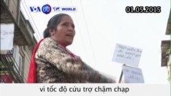Người dân biểu tình vì chính phủ Nepal cứu trợ chậm chạp (VOA60)