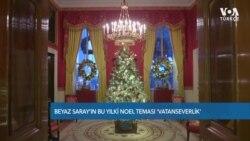 Beyaz Saray'da Noel Teması Vatanseverlik