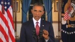 اوباما: اگر آمریکا تهدید شود، تهدید کنندگان هیچ پناهگاه امنی نخواهند داشت.