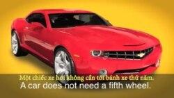 Thành ngữ tiếng Anh thông dụng: Fifth Wheel (VOA)