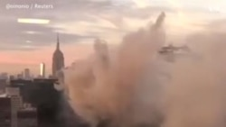 Пожар в башне Трампа