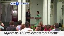 VOA60 Duniya: Shugaban Barack Obama da Aug San Suu Kyi a Myanmar, Nuwamba 14, 2014