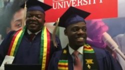 Howard University Graduates: Admonish Deda and Tapiwa Musonza