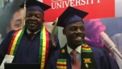 Howard University Graduates: Admonish Deda and Tapiwa Musonza