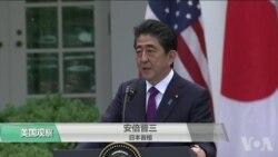 VOA连线(许湘筠):安倍在川金会前访白宫推动日本利益