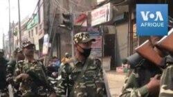 Inde: la police anti-émeute se déploie à New Delhi