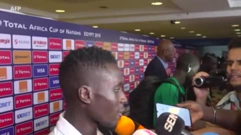 Réaction des joueurs après la victoire du Sénégal sur la Tunisie