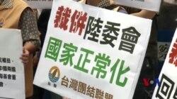 台湾本土化政党呼吁废除海基会