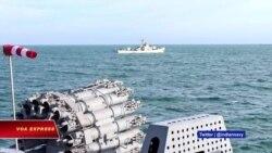 Hải quân Việt-Ấn tập trận chung trên Biển Đông