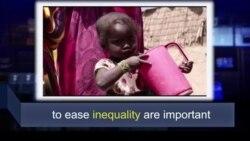 Học từ vựng qua bản tin ngắn: Inequality (VOA)