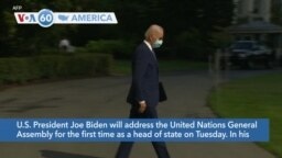 VOA60 America- President Biden met Monday with U.N. Secretary General António Guterres ahead of the General Assembly