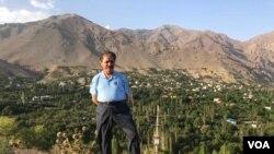 Lawyer Saleh Nikbakht has represented several journalists in Iran. (Photo courtesy Saleh Nikbakht)