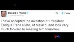 川普發表移民政策講話之前將前往墨西哥