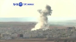 VOA60 Duniya: ISIL na Kokarin Kwato Garin Kobani, Siriya, Oktoba 15, 2014