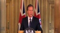 卡梅倫:伊斯蘭國為英國及世界帶來重大問題