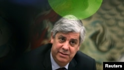 Menteri Keuangan Portugal dan Presiden Eurogroup, Mario Centeno di Lisbon, Portugal. (Foto: dok).