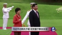 """中国加强对韩关系 淡化""""鲜血友谊""""?"""
