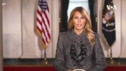 第一夫人視頻告別 特朗普夫婦搬往佛州