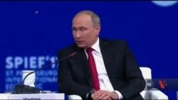 Володимир Путін звернувся до американських підприємців по допомогу. Відео