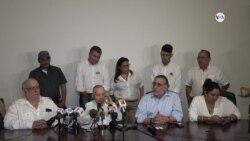 Oposición nicaragüense anuncia proceso de unidad de toda la disidencia