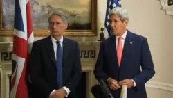 جان کری: ایران و روسیه اسد را پای میز مذاکره بیاورند