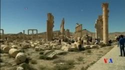 2016-04-03 美國之音視頻新聞: 敘利亞帕爾米拉亂葬坑發現40具屍體