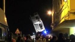 意大利貨船撞港口設施3人死亡