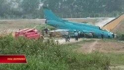 Thêm một tai nạn máy bay quân sự Su-22 tại VN