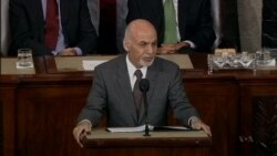 Afghan Leader Maps Path Forward to US Lawmakers