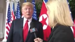 U.S. President Shares on Meeting with North Korean Leader Kim Jong-Un