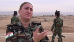 Yazidi Women Fighters: 'We Hope for Battle'