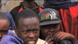 看天下: 内罗毕街头的流浪儿童