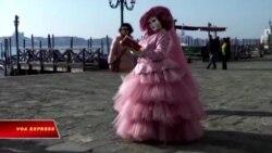 Những chiếc mặt nạ trong lễ hội hóa trang Carnival ở Venice