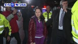 VOA60 America- China is confirming it has detained a second Canadian citizen following the arrest of Meng Wanzhou