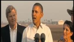 奧巴馬提出給予加州大幅援助,緩解旱災