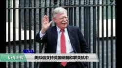 VOA连线(江静玲):美拟借支持英国硬脱欧联英抗中