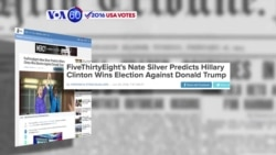 VOA60 Elections 06-30-FiveThirtyEight's Nate Silver predicts Hillary Clinton will win the presidential election
