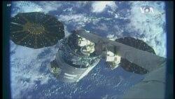 VOA英语视频: NASA设计呼吸机 货运飞船离开国际空间站