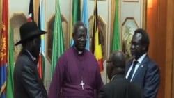 南蘇丹總統和反政府領導人達成停火協議