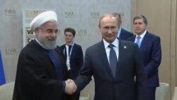 پوتین و روحانی در مورد همکاری های نظامی گفتگو کردند