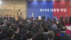 南韓新總統對訪問北韓持開放態度 (粵語)