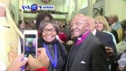 VOA60 Afrika:Askofu Desmond Tutu asheherekea miaka 40 ya uwongozi wa kanisa la Episcopalian mjini Johannesburg