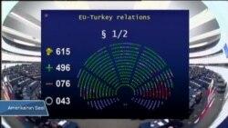 AP: 'Türkiye İle Üyelik Müzakereleri Durdurulsun'