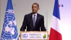 Ông Obama hối thúc lãnh đạo thế giới hành động giải quyết biến đổi khí hậu