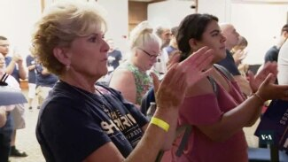 Жіноча сила: долю виборів до Конгресу США можуть вирішити голоси жінок. Відео