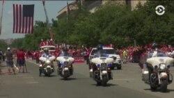 В Вашингтоне прошел парад в честь «Кэпиталз»